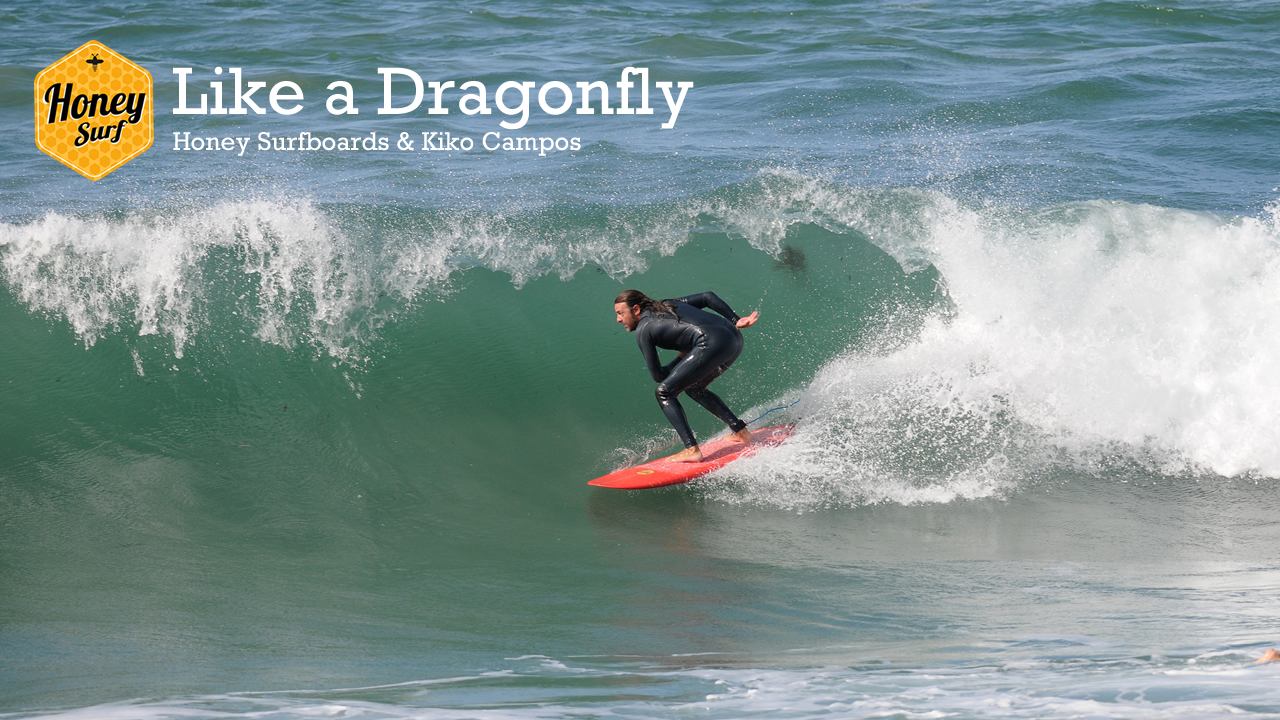 Surf like a Dragonfly